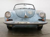 1960 Porsche 356B 1600S Cabriolet1960 Porsche 356B
