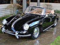 1965 Porsche 356 C Cabriolet VIN:161970 Engine: P717474
