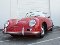 This is a Porsche 356 for sale by CNC Motors. The