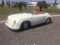 �FOR SELL PORSCHE 356 SPEEDSTER REPLICAFor lovers of