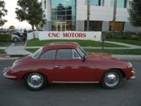1962 PORSCHE 356B THIS PORSCHE WAS JUST RECENTLY