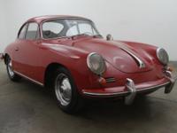 1962 Porsche 356B Coupe 1962 Porsche 356B Coupe with