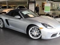 This 718 Boxster comes equipped with NavigationS2