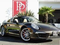 Only 3,570 Miles from New on this gorgeous 2015 Porsche