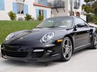 This 2007 Porsche 911 2dr 2dr Cpe Turbo Coupe features