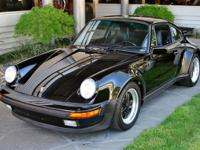 1987 Porsche 911 Turbo VIN: WP0JB0938HS051452 Only 5326