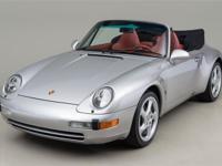 1998 Porsche 911 C2 Cabriolet VIN: WP0CA2999WS341000