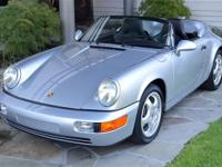 1994 Porsche 911 Speedster VIN: WP0CB2963RS465352 Polar