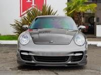 2007 Porsche 911 Turbo Coupe finished in Meteor Grey