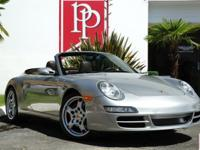 2007 Porsche 997.1 Carrera 4S Cabriolet finished in
