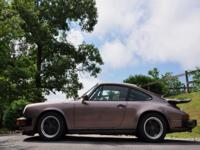 1987 Porsche 911 Carrera 3.2 G50 Coupe low miles and