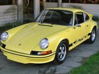 1973 Porsche 911 Carrera RSH (Homologation) VIN: