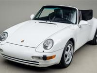 1995 Porsche 993 Cabriolet VIN: WP0CA2993SS340290