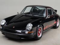 1973 Porsche 911 Carrera RS VIN: 9113601182 Engine: