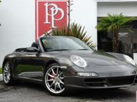 2008 Porche Carrera S Cabriolet in Slate Grey Metallic
