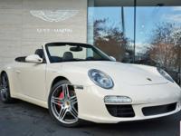 2009 Porsche Carrera S Cabriolet in Cream White with