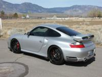 Very, very clean 2003 Porsche 996TT / 911 Turbo. The