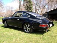 1969 Porsche 911T Rust free example of COA matching