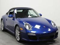 2009 Porsche 911 Carrera 997.2 CabrioletAqua Blue