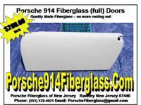 Porsche 914 Full Doors Fiberglass Fiberglass