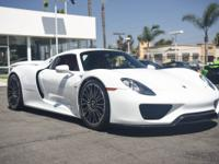 This is a Porsche 918 Spyder for sale by iLusso