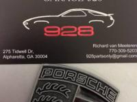 GARAGE 928 offers service, used parts, restoration and