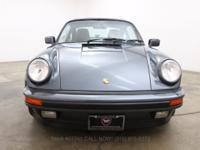 1987 Porsche 930 Turbo Sunroof Coupe1987 Porsche 930