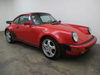 1986 Porsche 930 Turbo Sunroof Coupe 1986 Porsche 930
