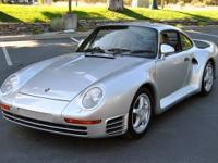 1987 Porsche 959 VIN: WP0ZZZ95ZHS900075 Engine No: