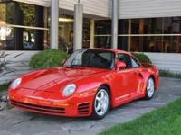 1988 Porsche 959 VIN: WP0ZZZ95ZJS900288 There were only