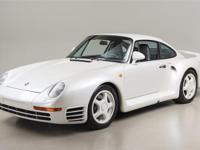 1988 Porsche 959 VIN# WP0ZZZ95ZJS900183 Engine Number: