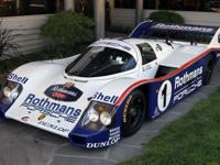 1985 Porsche 962C VIN: 962-002 The second 962 built by