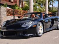 This 2005 Porsche Carrera GT 2dr 2dr Carrera Coupe