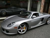 This is a Porsche, Carrera GT for sale by Miller