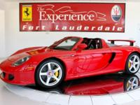 This Porsche Carrera GT is 1 of only 980 vehicles ever
