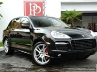 This 2009 Porsche Cayenne GTS, finished in Black with