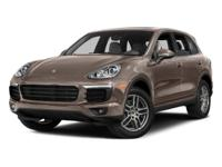 2016 PORSCHE CAYENNE APPROVED CERTIFIED PRE OWNED with