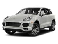 This Cayenne Platinum Edition comes equipped with