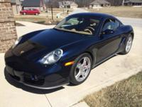 This is a very nice 2006 Cayman S with several