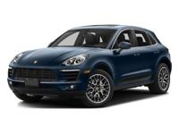 This Macan S comes equipped with1BH Porsche Active