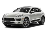 This Macan S comes equipped with0NA Deletion of Model
