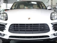 This Macan S includes0P8 Sport Exhaust System including