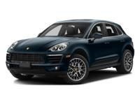 This Macan S comes equipped with NavigationN5 Night