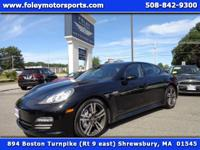 2012 Porsche Panamera 4 S... Gorgeous Black on Black