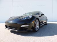 This is a Porsche Panamera for sale by CNC Motors. The