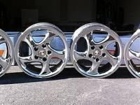 Excellent condition rims and tires for porsche   Call