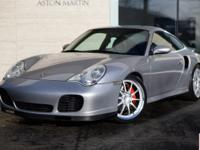 2001 911 Turbo Coupe Presented in Classic Arctic Silver