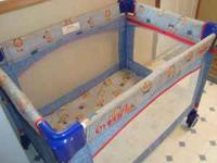 *** FOR SALE *** PORT-A-CRIB Clean!!! Comes with