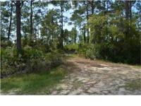 Enjoy over half acre on beautiful Indian Pass Lagoon.