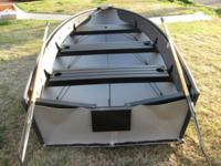 Product Description: This is a 12' V-Boat, rated for